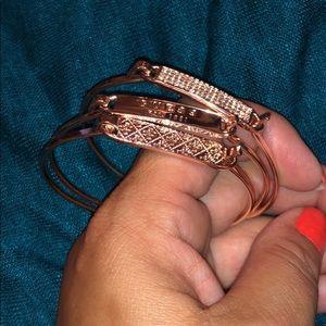 Guess 3 piece bracelets